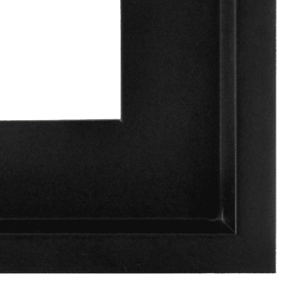 Schattenfugenrahmen Leinwandbild