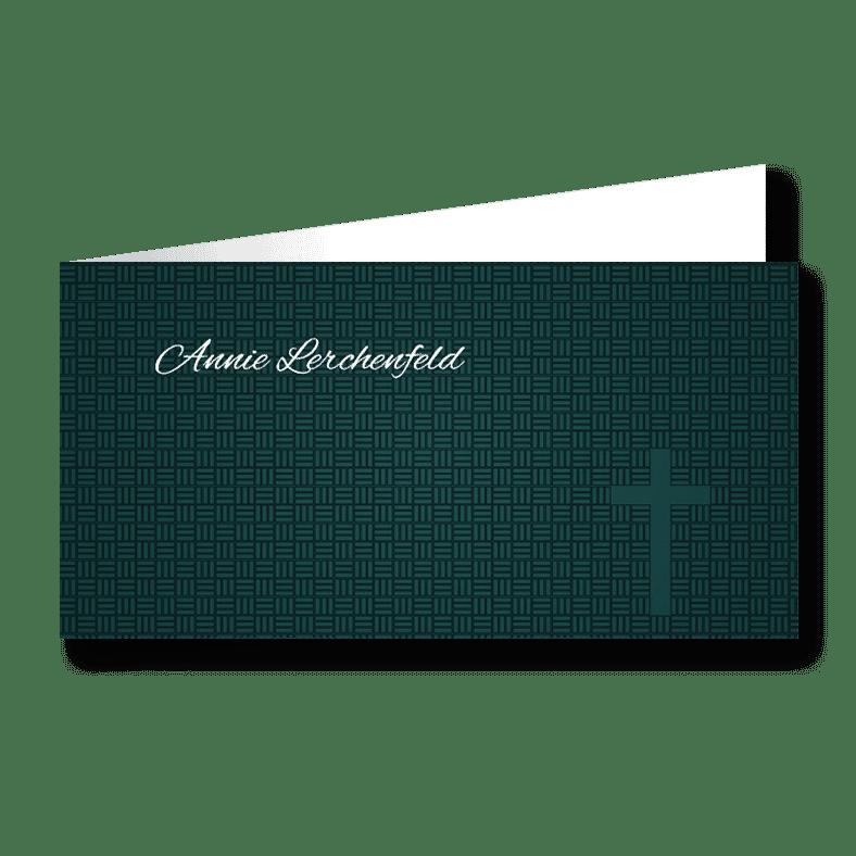 Trauerkarte Muster