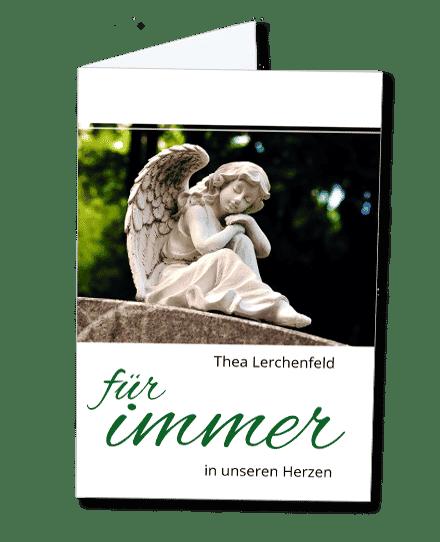 Gedenkbild Engel im Sommer