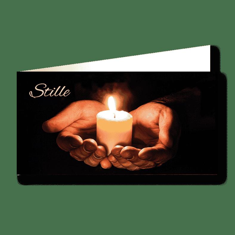 Trauerkarte Einsamkeit