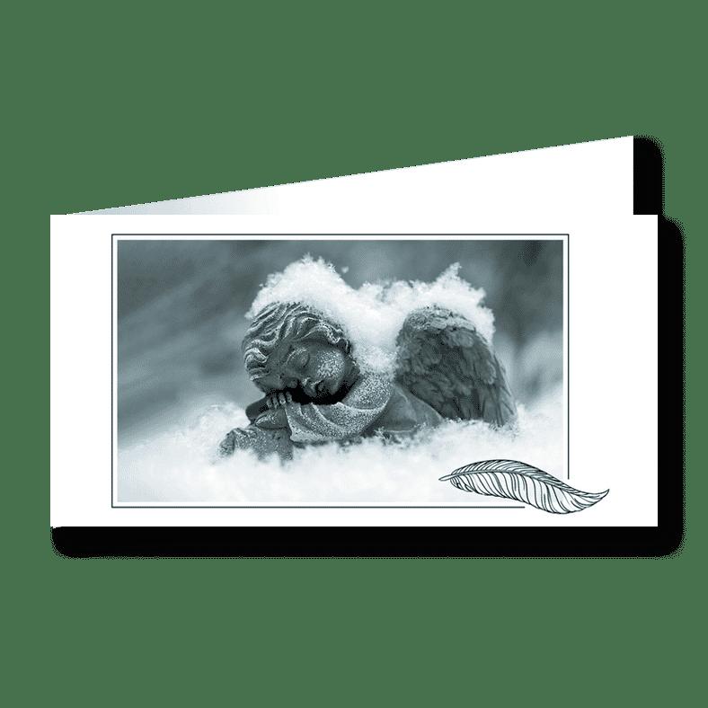Trauerkarte Engel für Sternenkinder
