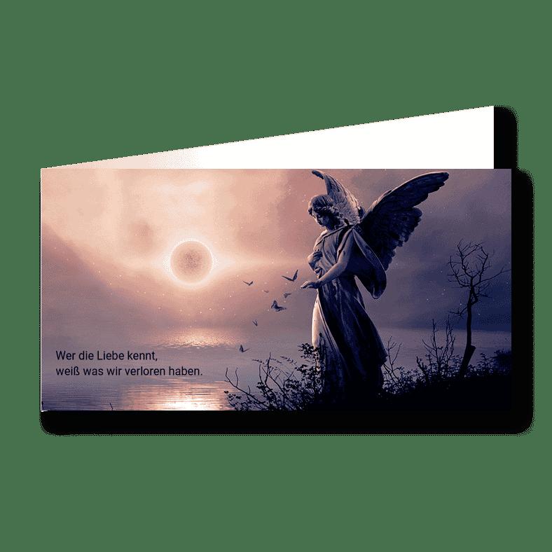 Trauerkarte Verloren