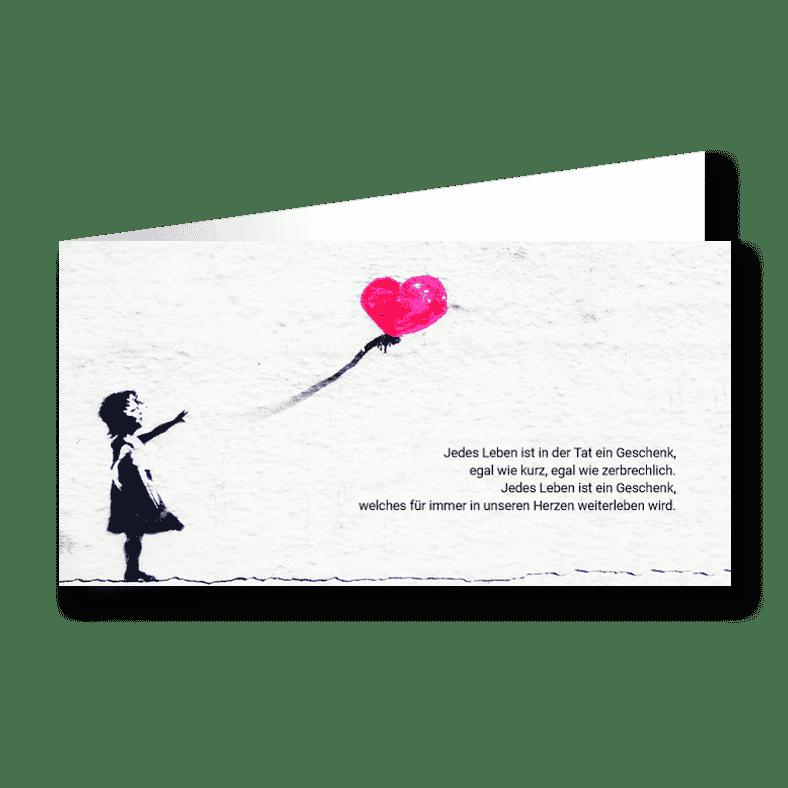 Trauerkarte Verlorene Liebe Kind