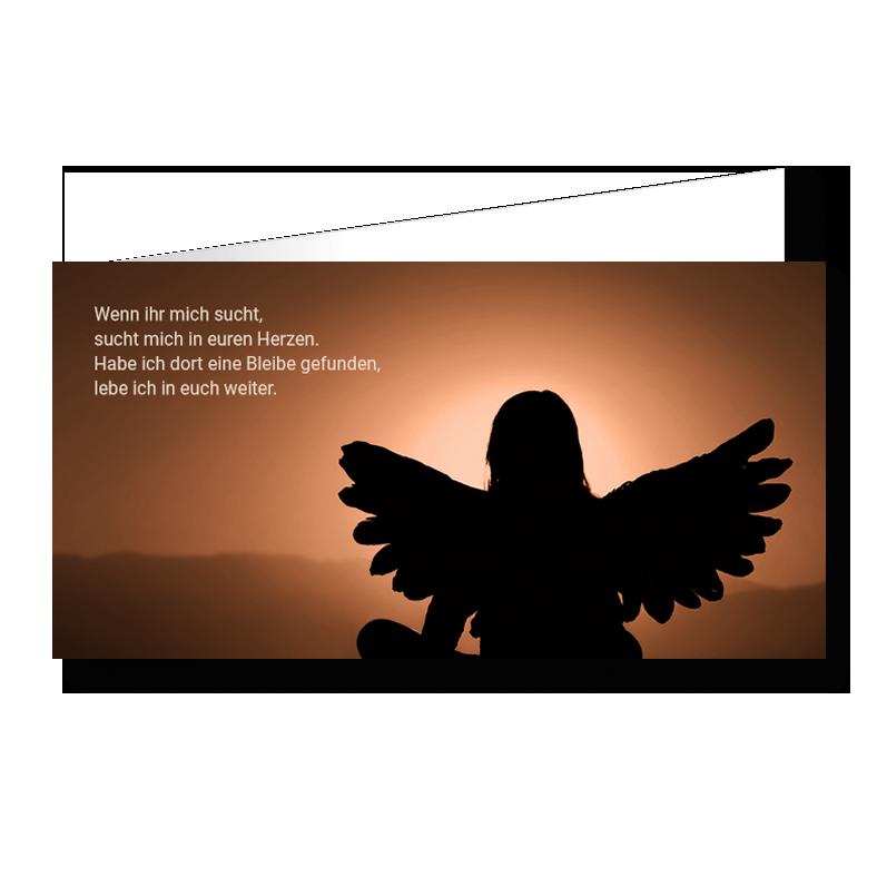 Kinder Trauerkarte Wiedersehen