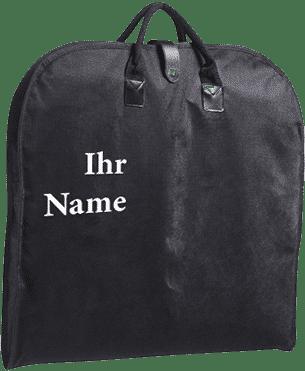 Kleidersack mit Name und Logo