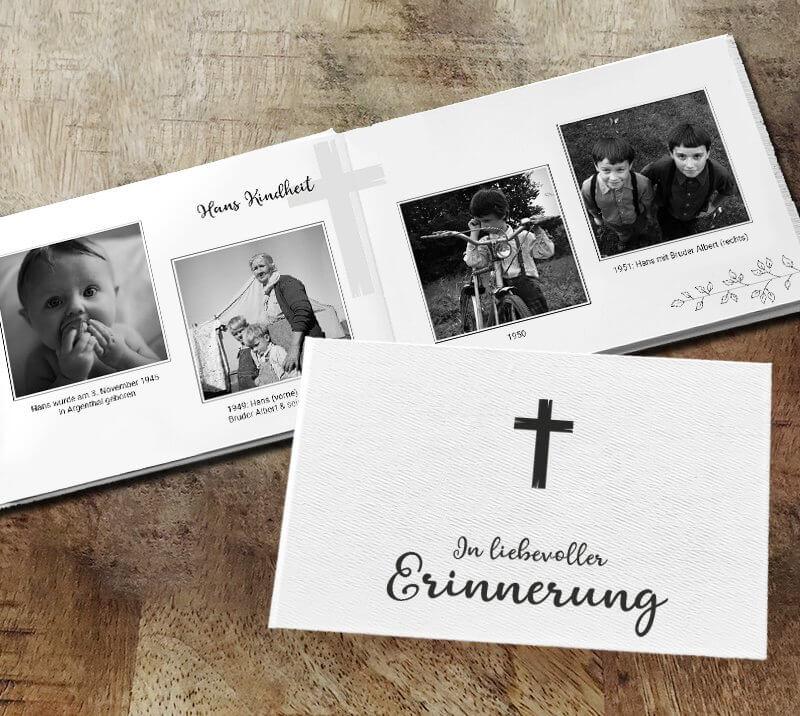 Gedenkbuch Kreuz