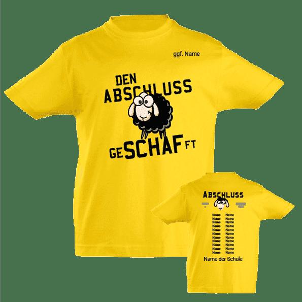 Abschluss-Tshirt GeSCHAFft